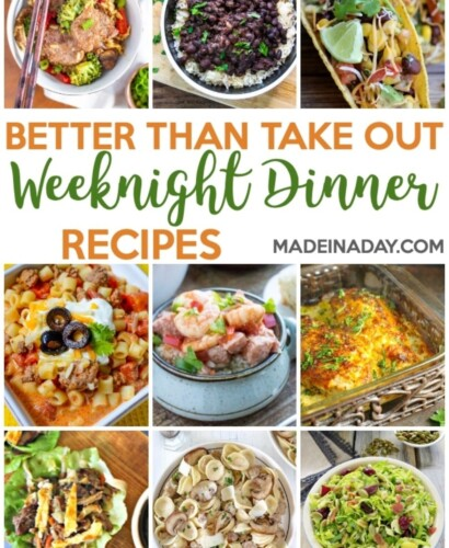 Better Than Takeout Weeknight Dinner Recipes 31