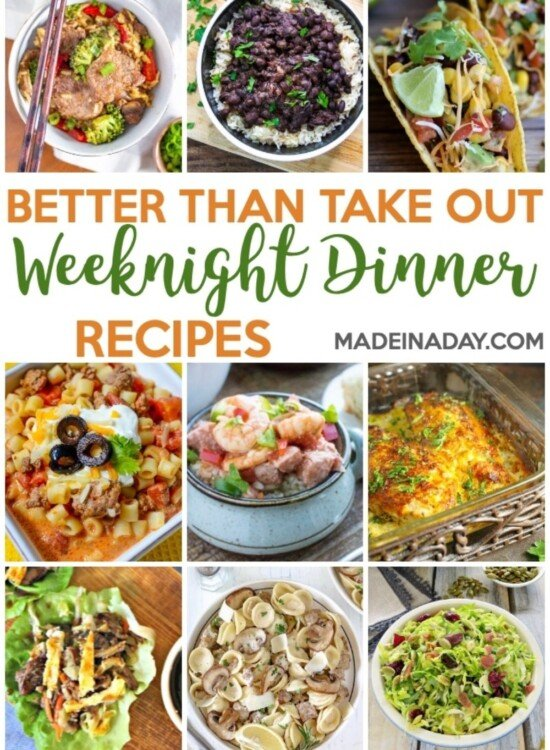 Better Than Takeout Weeknight Dinner Recipes 2