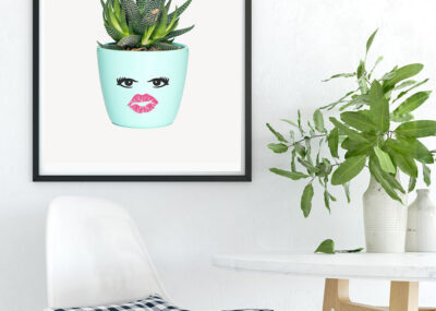 Inspiring Succulent Printable Wall Art: Plant One on Me! 20