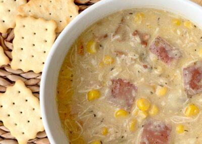 Creamy Instant Pot Chicken Corn Chowder 16