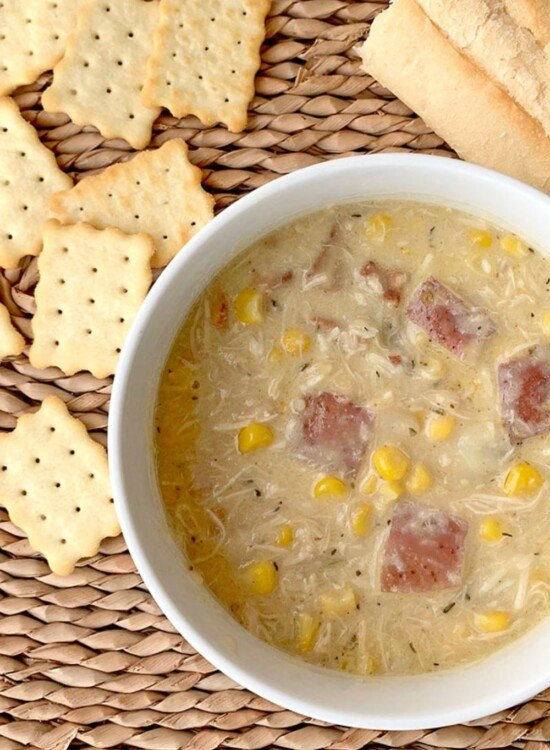 Creamy Instant Pot Chicken Corn Chowder 1