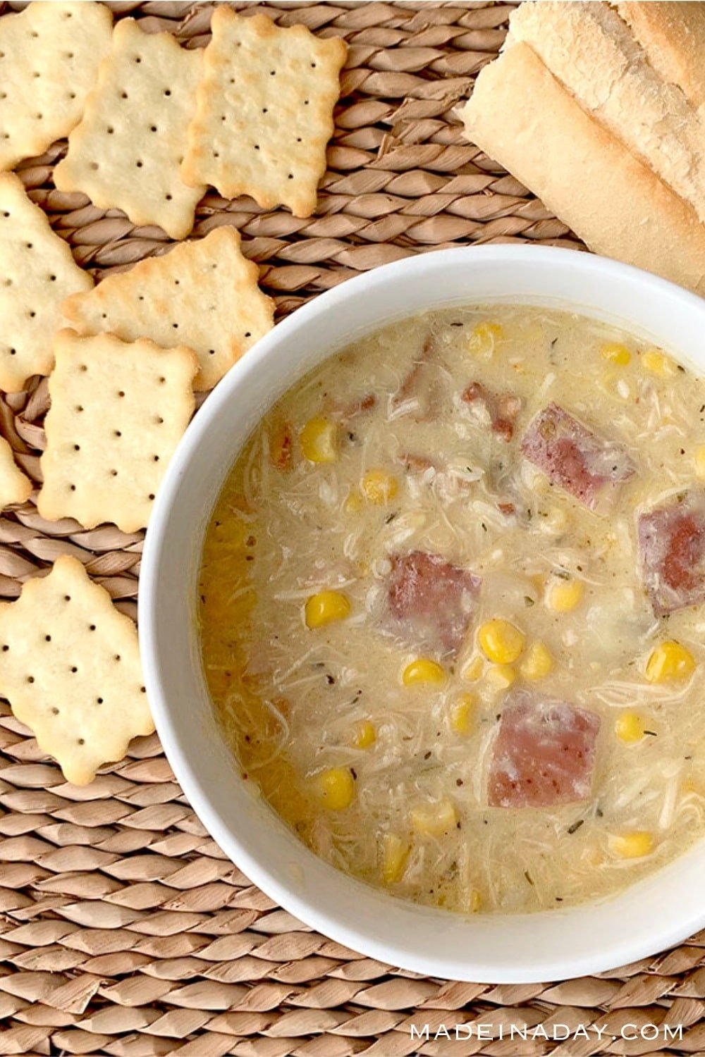 Creamy Instant Pot Chicken Corn Chowder