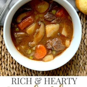 Rich & Hearty Pressure Cooker Beef Stew 29