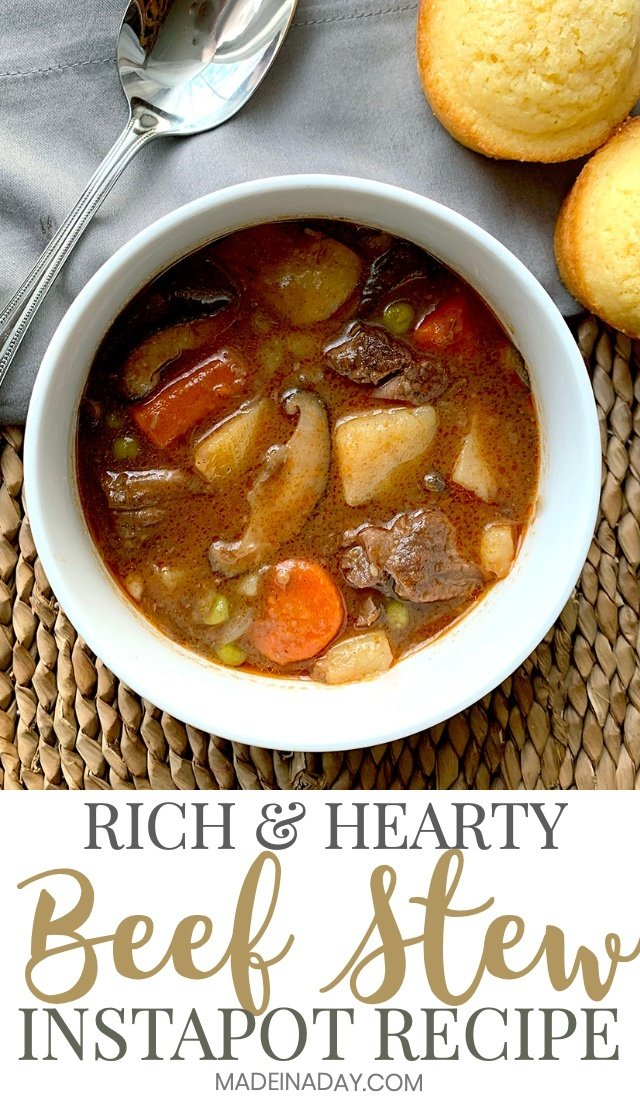 pressure cooker beef stew pin