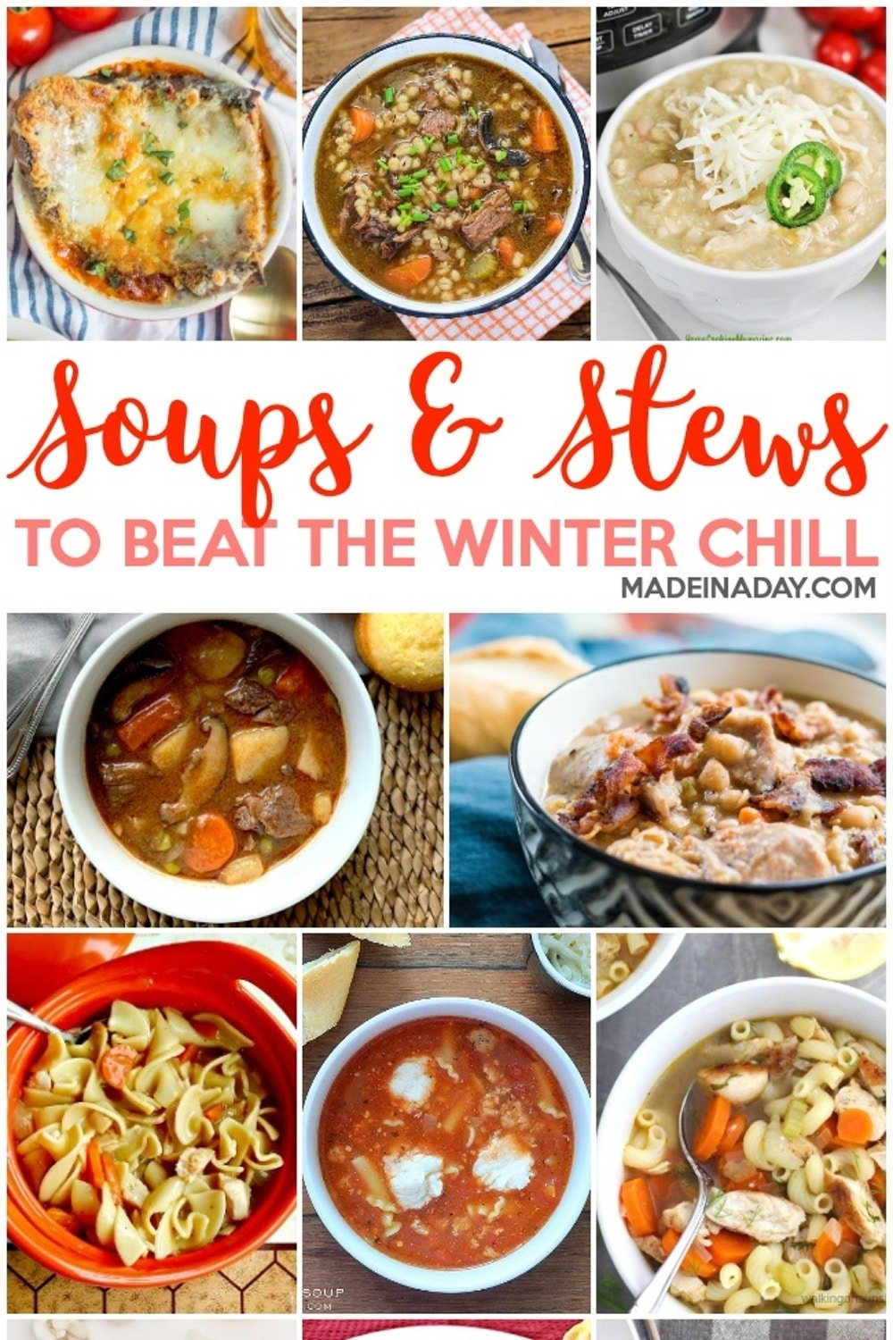 Bold Soups Stew Recipes to Beat the Winter Chill