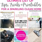 Ultimate List of Tips & Printables for a Clean Home 1
