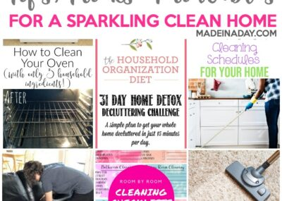 Ultimate List of Tips & Printables for a Clean Home 21