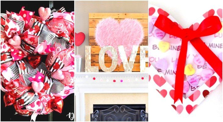 diy valentine's day paper decorations