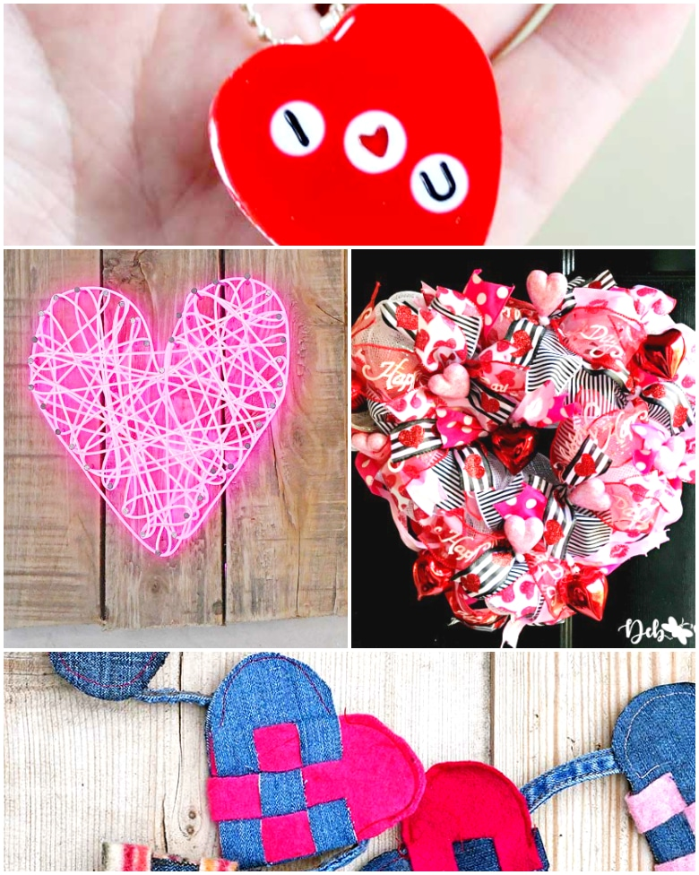 12 Super Cute Valentine's Day Crafts & Decor Ideas