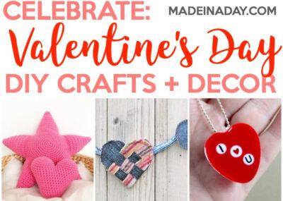 Super Cute Valentine's Day Crafts & Home Decor Ideas 18
