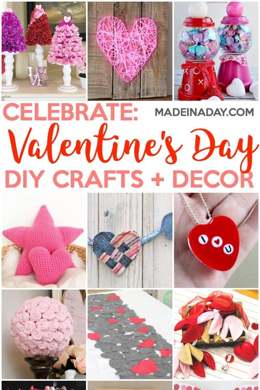 Valentine's Day Crafts & Home Decor Ideas