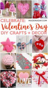 Super Cute Valentine's Day Crafts & Home Decor Ideas 1