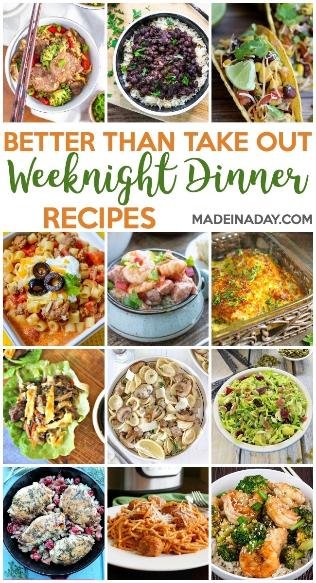 Better Than Takeout Weeknight Dinner Recipes, black beans, MooSoo Beef, Tacos, taco stew, instant pot gumbo, shrimp broccoli stir fry, brussels sprouts, pasta, cranberry turkey breasts, #recipes #weeknightmeals #recipes #dinner #chicken #tacos #gumbo #stew