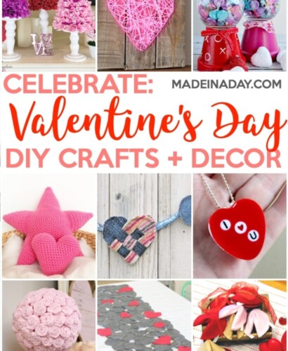 Super Cute Valentine's Day Crafts & Home Decor Ideas 1