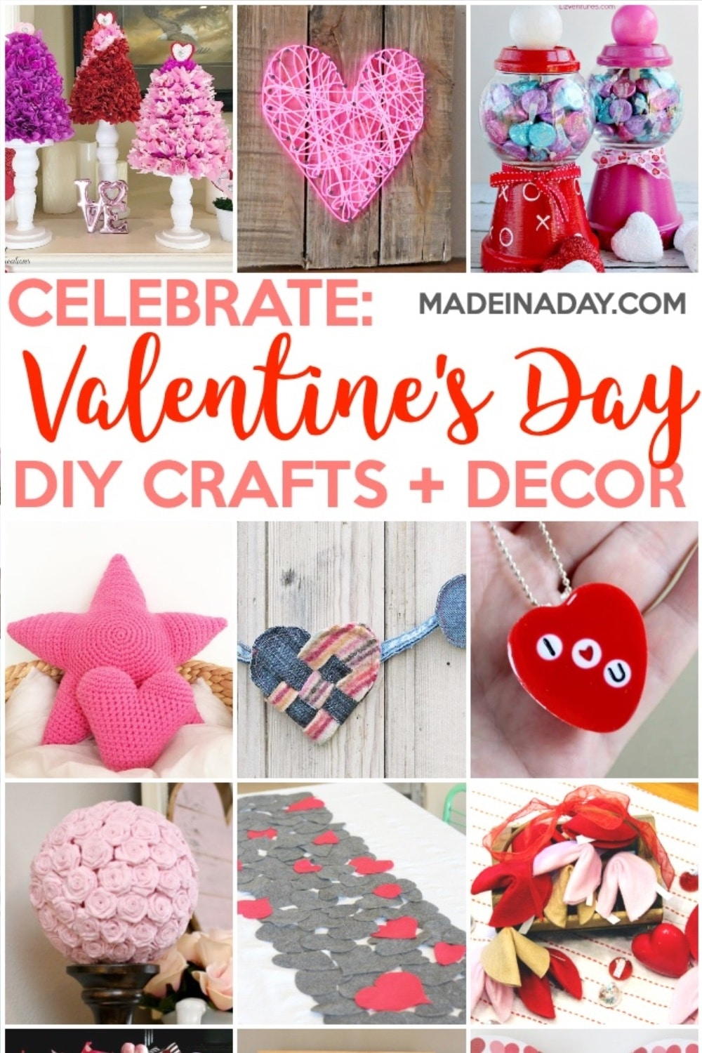 Super Cute Valentine's Day Crafts & Home Decor Ideas 25