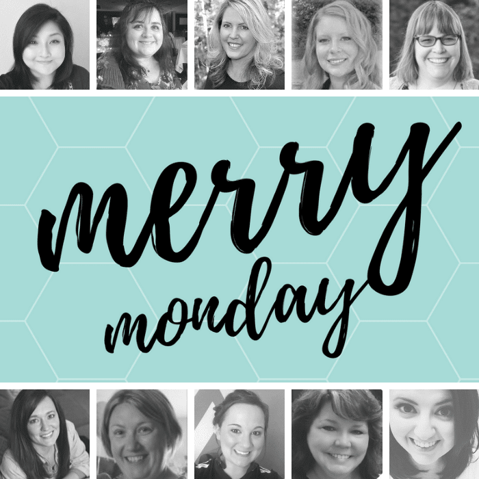 merry monday linky party hosts