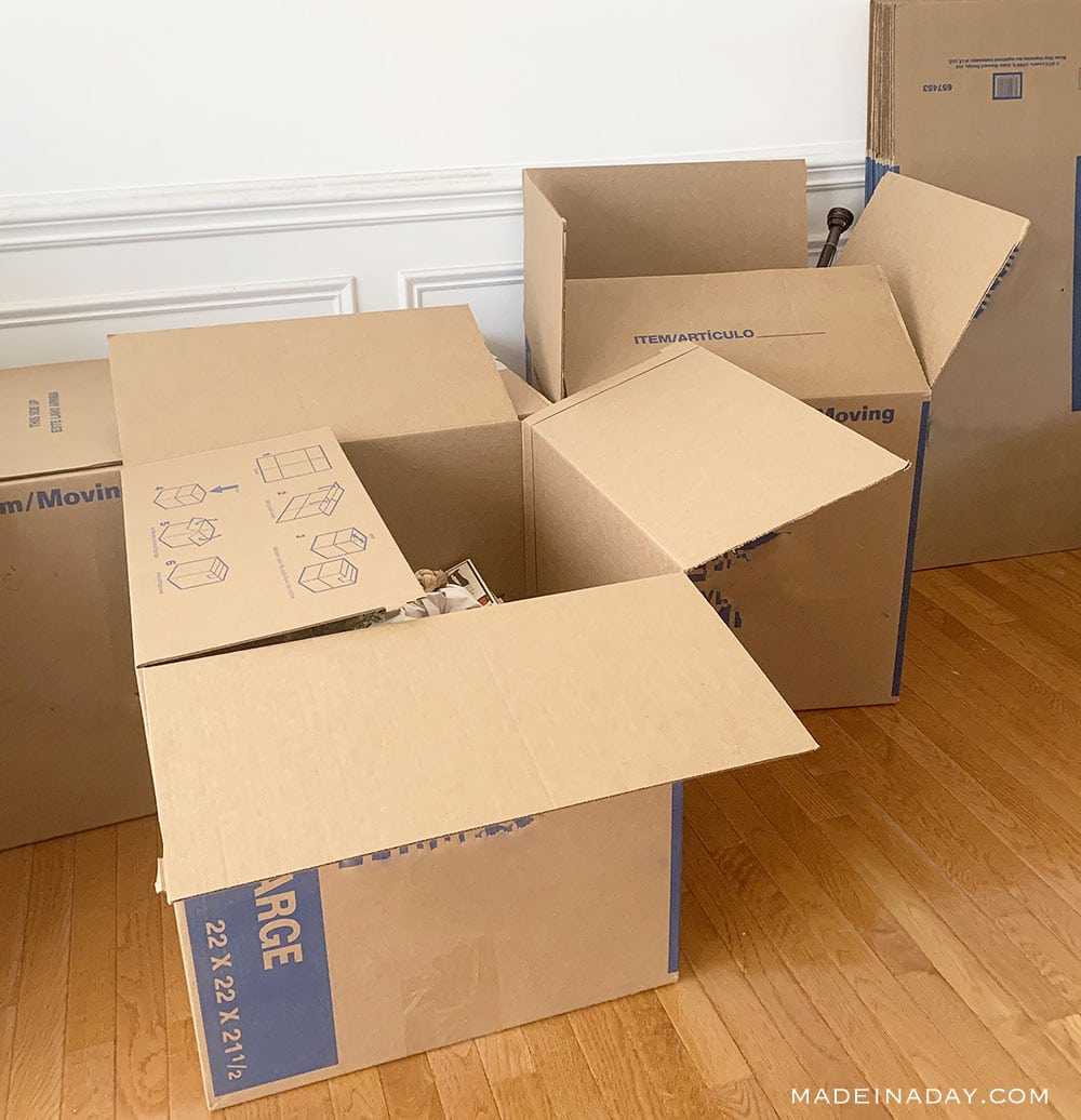 What to get rid of when moving across the country, should you move your furniture or buy new, moving across the country