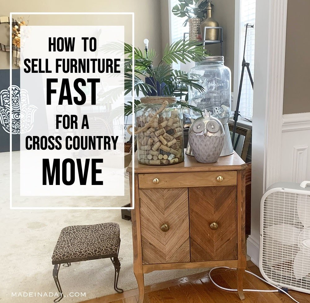 Fastest Way To Sell Furniture For Cross Country Move