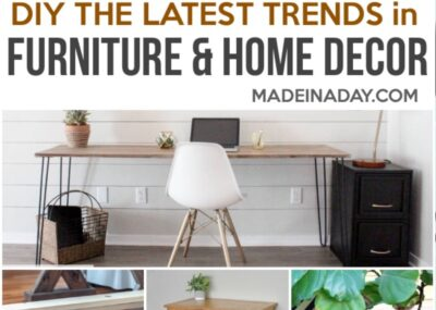 DIY Furniture and Home Decor Projects for Every Style 10