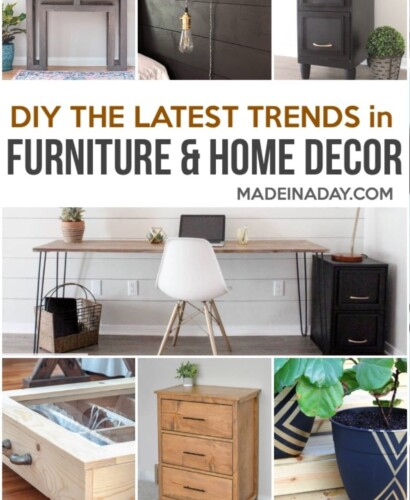 DIY Furniture and Home Decor Projects for Every Style 31