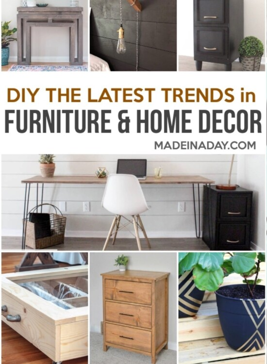 DIY Furniture and Home Decor Projects for Every Style 33