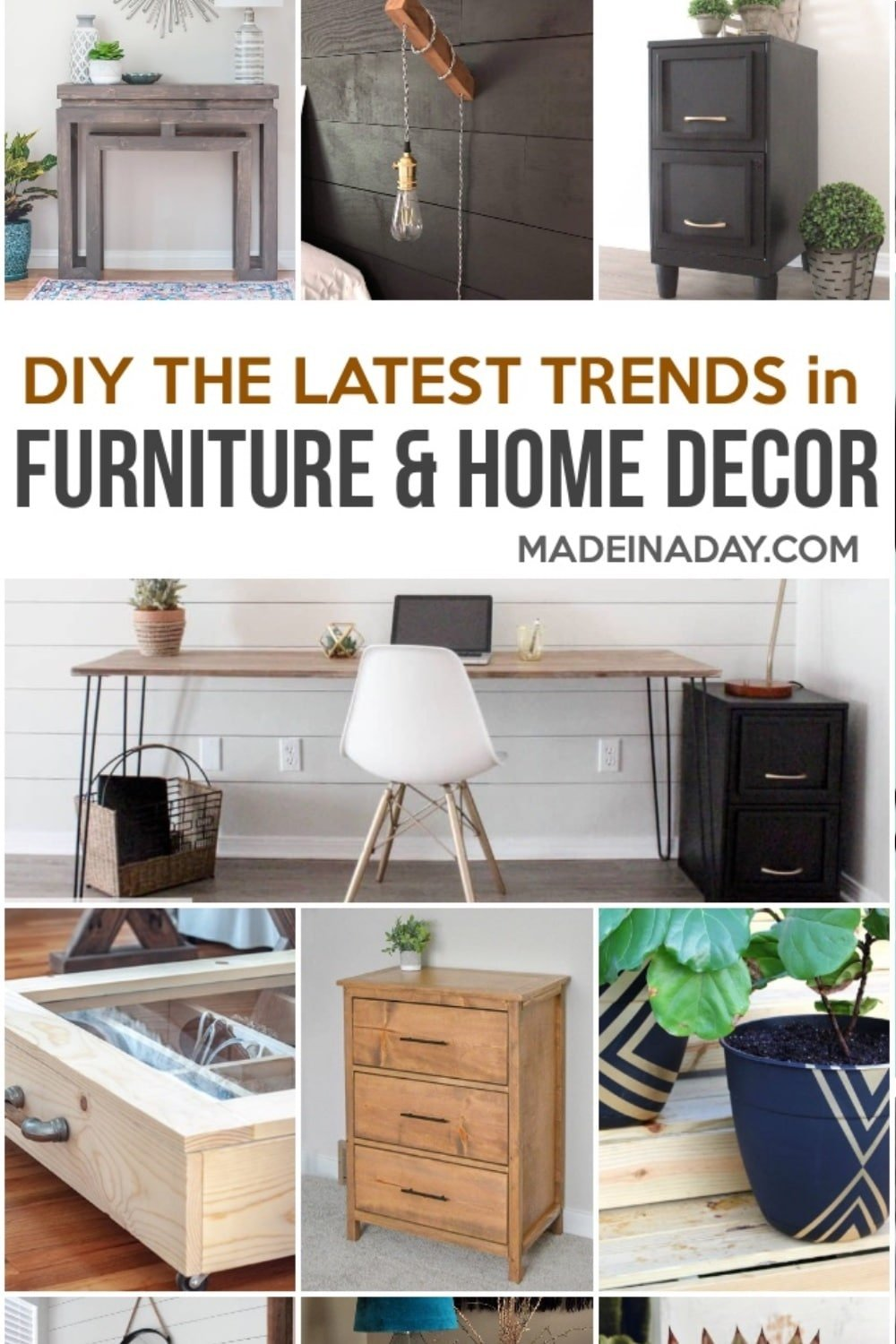DIY Furniture and Home Decor Projects for Every Style