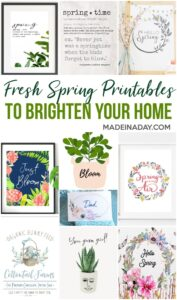 Spring Printables to Freshen up Your Home 1