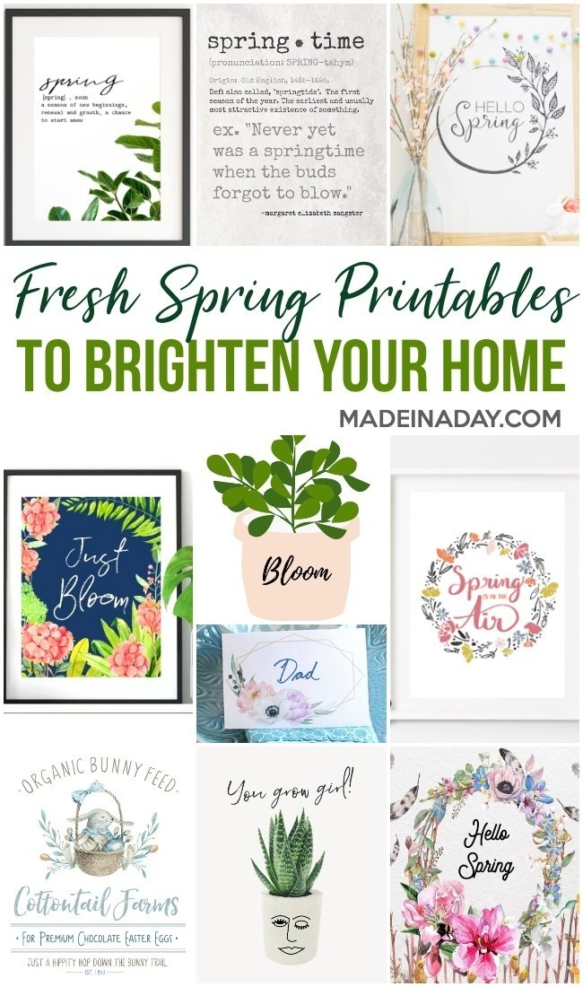 Gorgeous Spring Printable Art for the Home 3