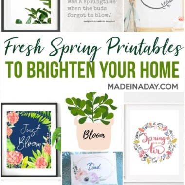 Spring Printables to Freshen up Your Home 43