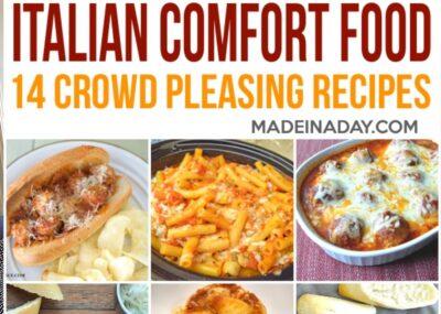 14 Crowd Pleasing Italian Comfort Food Recipes 7