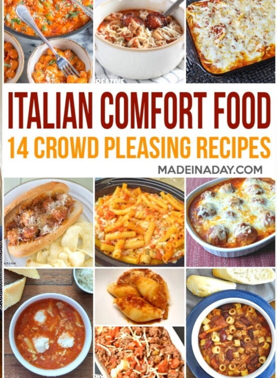 14 Crowd Pleasing Italian Comfort Food Recipes 5