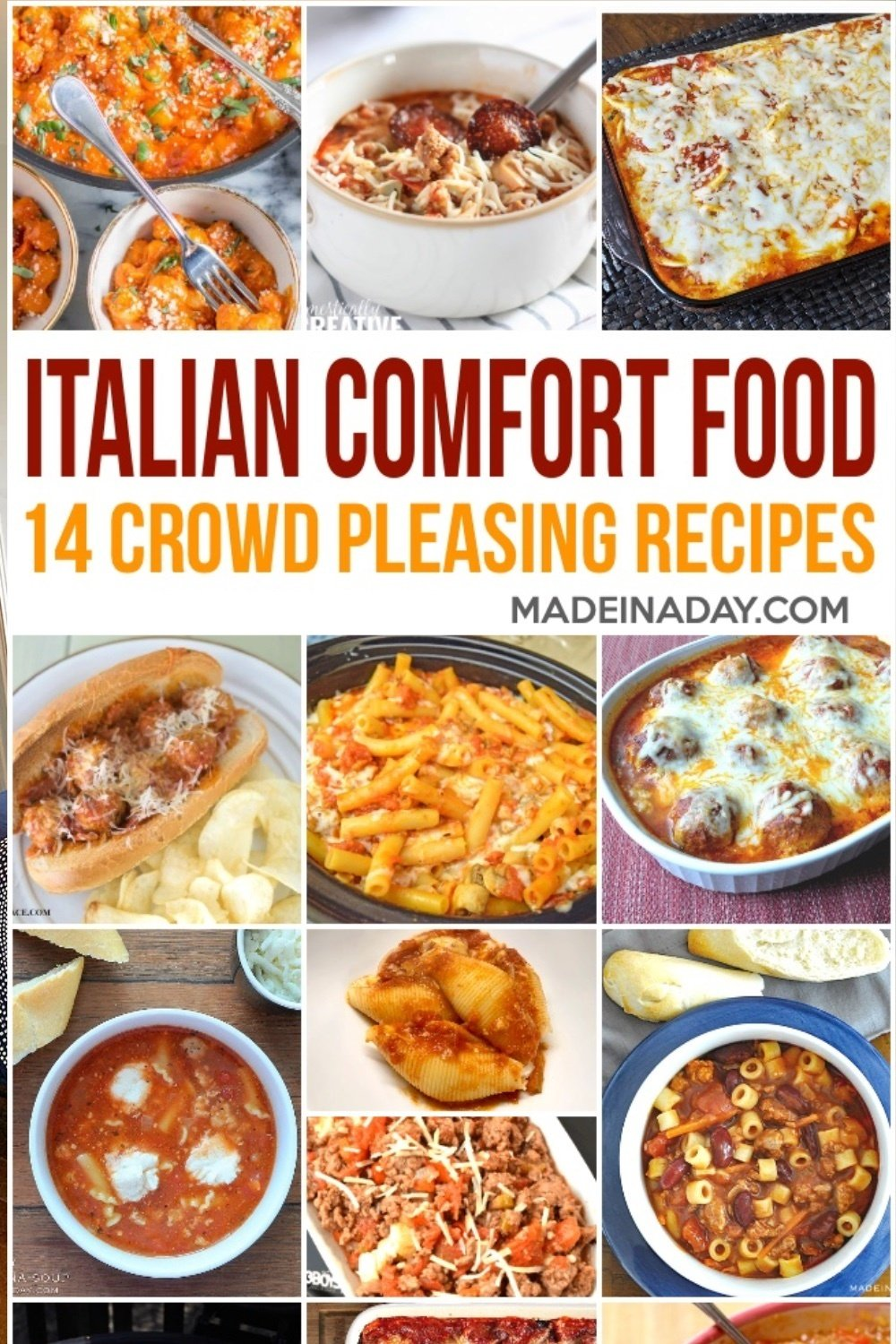 14 Crowd Pleasing Italian Comfort Food Recipes 14