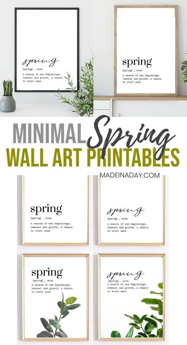Minimal Spring Wall Art Printables, minimal, printable wall art, spring wall art, spring printable, minimal printables, simple wall art, handwritten wall art, handletter wall art, simple all art, digital wall art printables, tropical wall art, spring tropical wall art, #spring #minimal #wallart