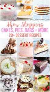20+ Show Stopping Dessert Recipes 1