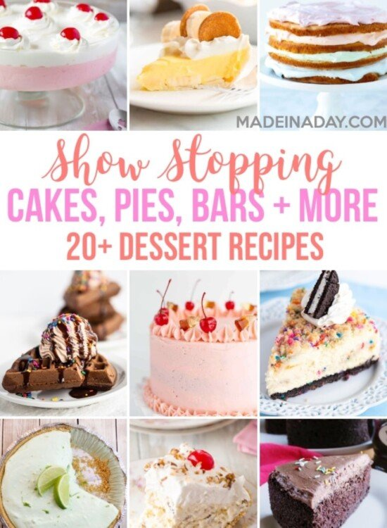 20+ Show Stopping Dessert Recipes 6