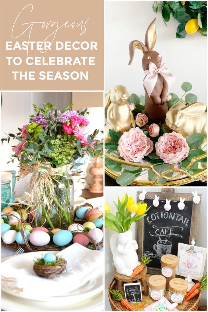Gorgeous Farmhouse Easter Decoration Inspiration