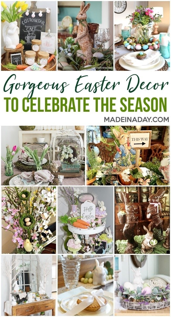 easter decorations, easter home decor
