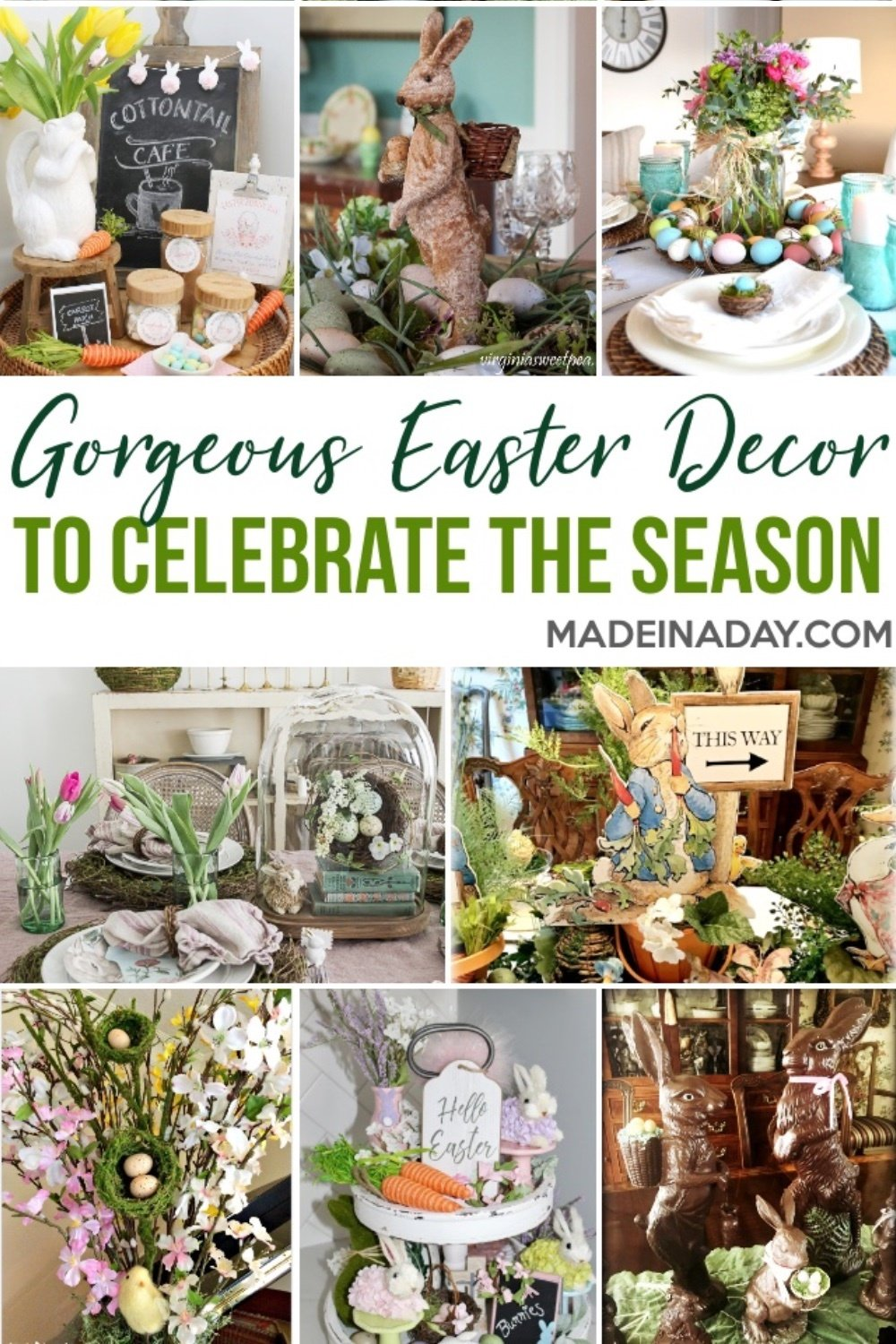 Gorgeous Easter Decoration Inspiration