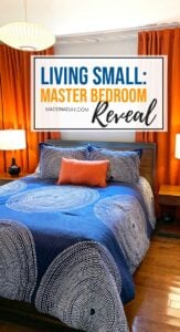 Living Small Master Bedroom Reveal 1