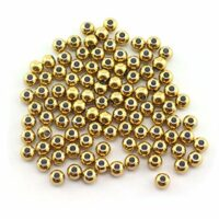 6mm Gold Spacer Beads