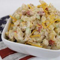 Cheesy Tuna Pasta Salad Recipe