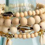 DIY Dangle Cowrie Shell Earrings 1