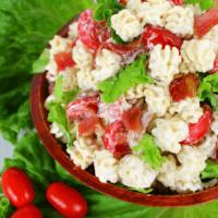 Creamy Ranch BLT Pasta Salad