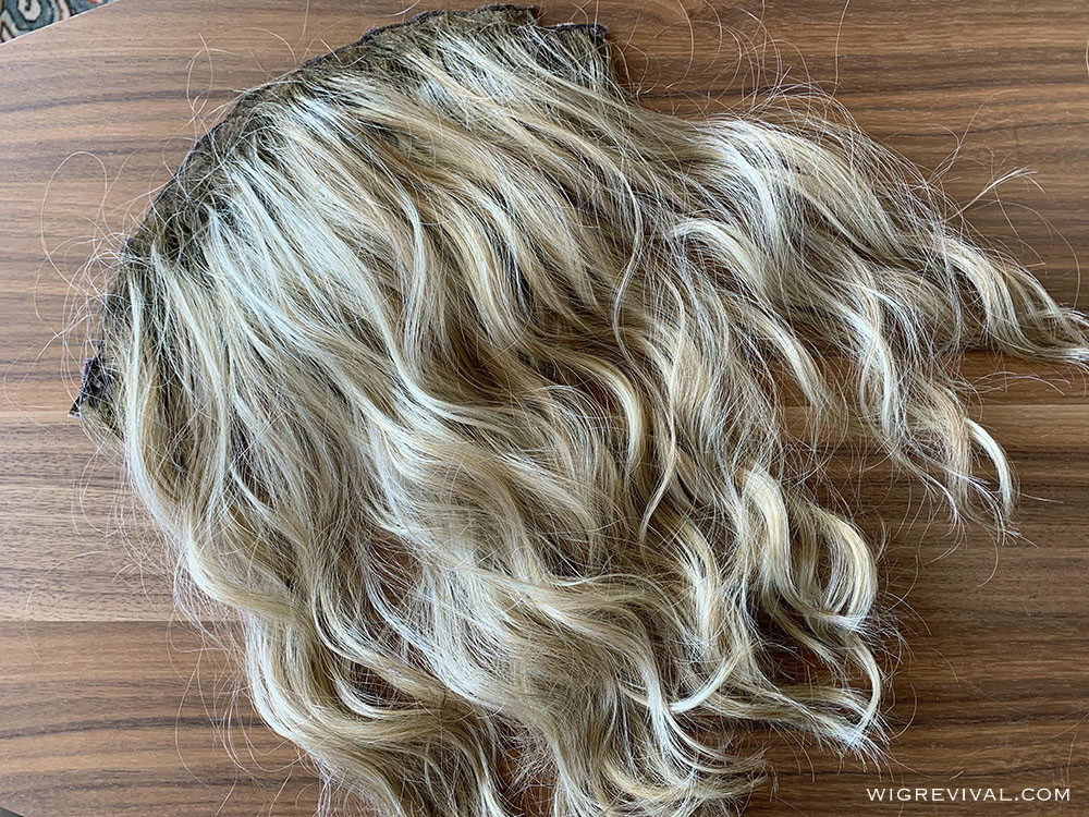 Beach wave wefts, clip in extensions, blonde beach wave wefts