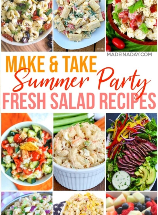 Delicious Summer Gathering Side Dish Salad Recipes 32