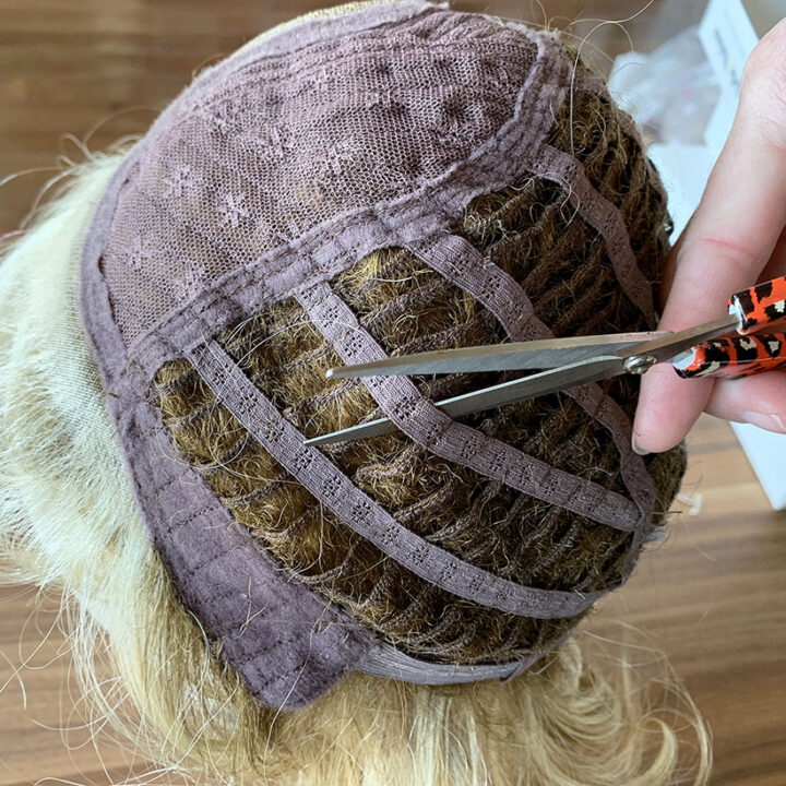 How to Cut a Wig to Make a Hair Topper