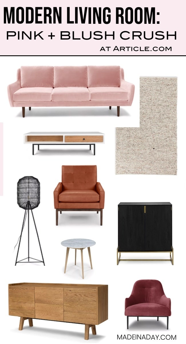 Pink Blush Furniture Roundup