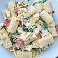 Spinach Smoked Mozzarella Pasta Salad Recipe