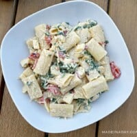 Smoked Mozzarella Pasta Salad