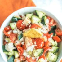 Grilled Shrimp & Avocado Salad Recipe